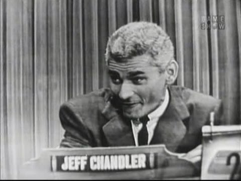 What's My Line?  Jeff Chandler Oct 3, 1954
