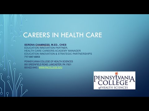 PA TE[a]CH Video Series: Serena Chamness Pennsylvania College of Health Sciences (PA College)