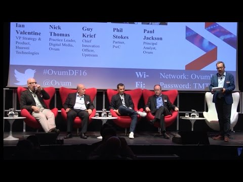 "Upstream at Ovum's ""Digital Futures 2016"" event, in London"