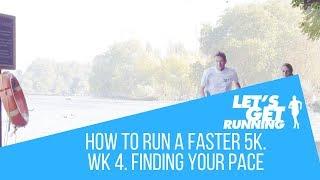 Faster 5k in 5 weeks Challenge. Week 4
