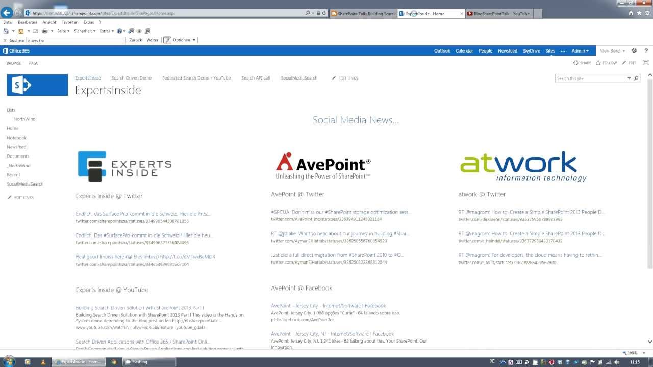 SharePoint Talk: Building Search Driven Solution with