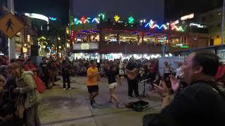 Zumba Dancers from Vietnam With Sentuhan Buskers 2018-[4K]