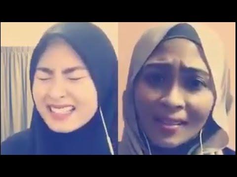 Siti nordiana terkejut dengar suara wany hampir sama dengan suaranya!!