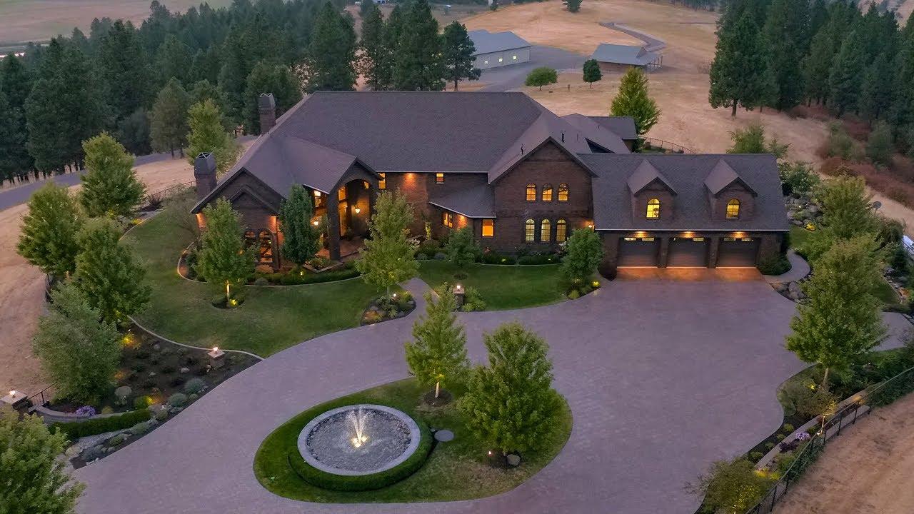 60 acre luxury estate at 21218 e saltese lake rd greenacres
