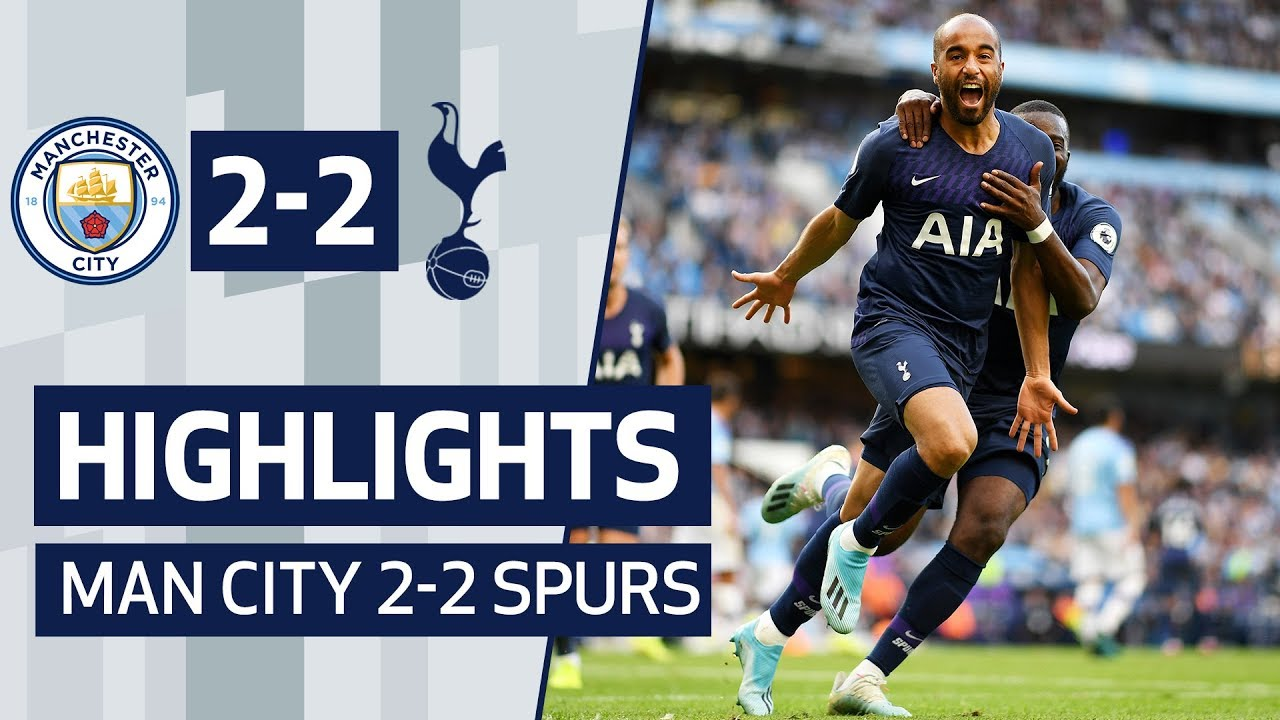 HIGHLIGHTS MAN CITY SPURS LUCAS MOURA SCORES SECONDS AFTER COMING ON YouTube