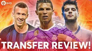 Ronaldo, Morata, Perišić | Manchester United Transfer News Review!