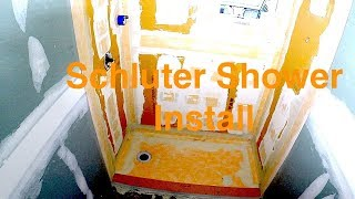 How to Install Kerdi board Schluter shower