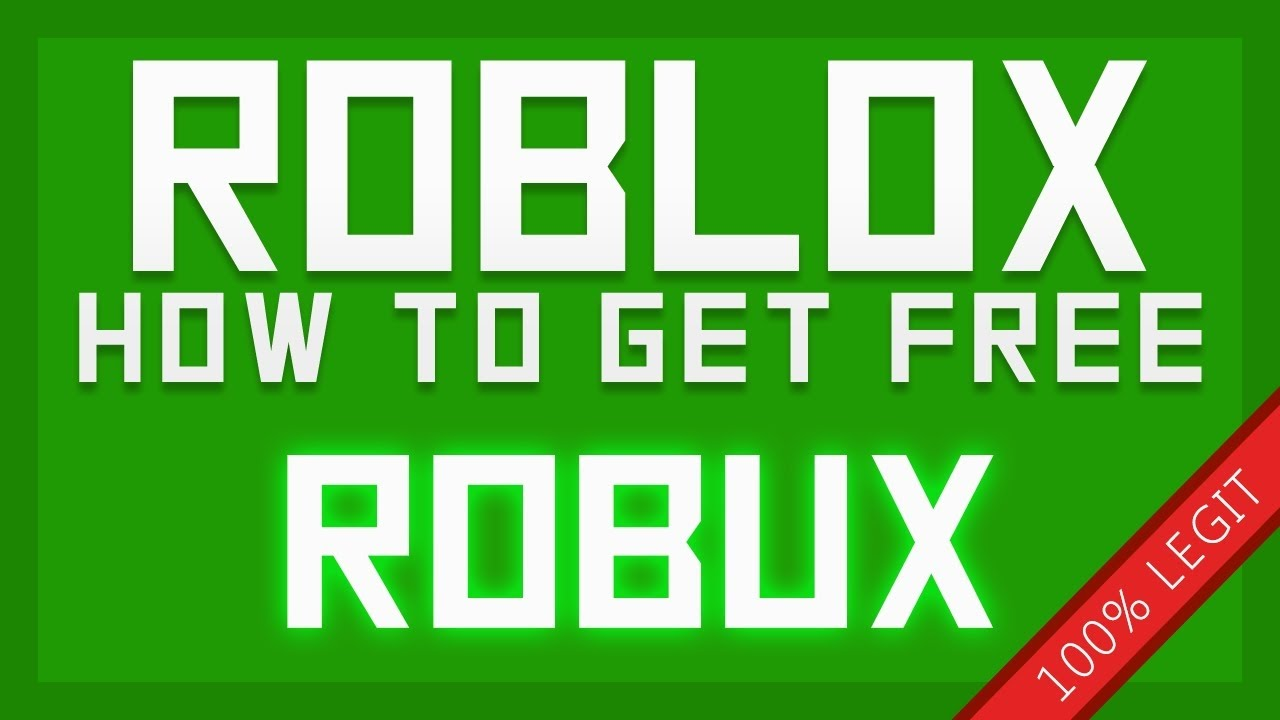 How to get free robux 2016/2017/2018 (Working) (No scam ...