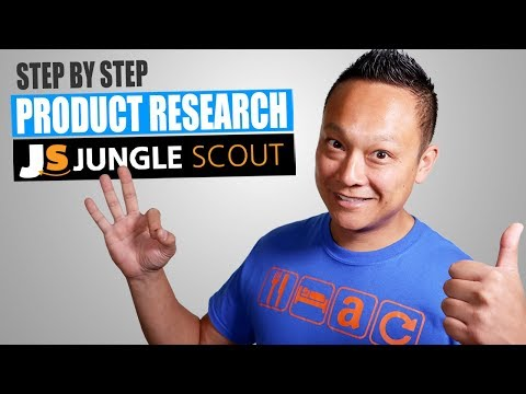 Amazon FBA Product Research for BEGINNERS with Jungle Scout in 2019