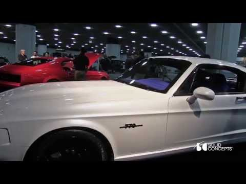 3D Printing Detroit Muscle & Luxury With The Bass 770