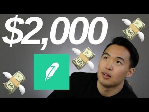 How I made $2000 on Robinhood - RIETs and Cannabis Stocks
