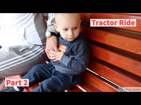 Fishers Farm Park Tractor Ride With Adriaan