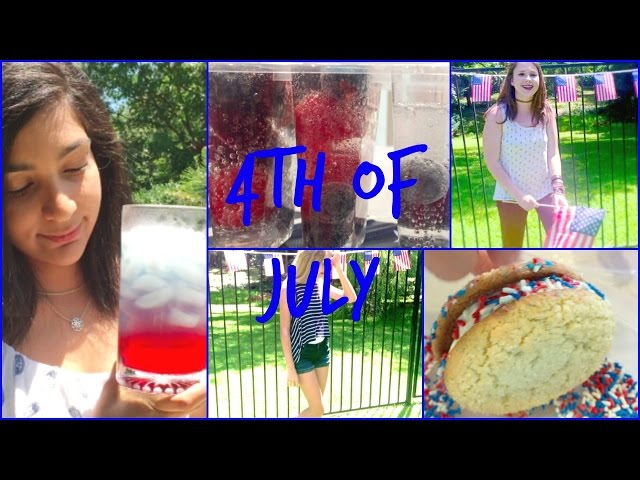 Fourth Of July Treats+Outfit Ideas!