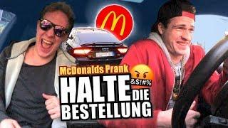 McDonalds Roulette - Halte die Bestellung (Peinliche Wörter im McDrive Prank)
