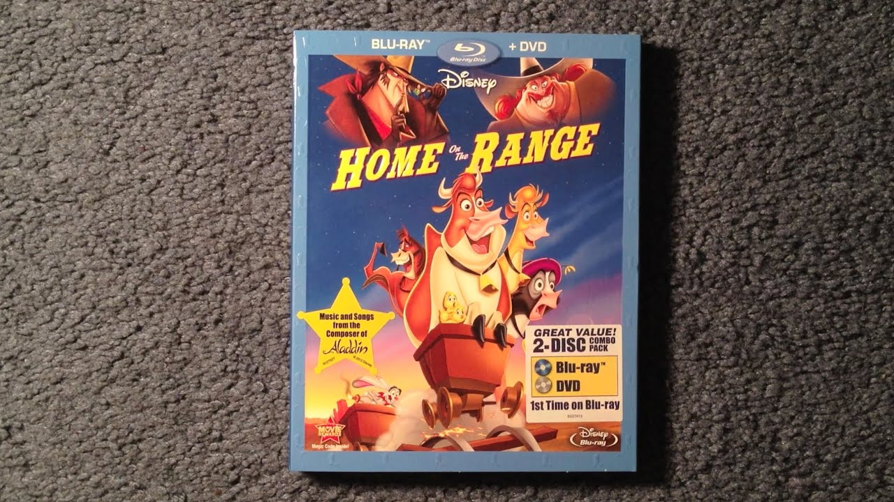 unboxing home on the range blu ray dvd youtube. Black Bedroom Furniture Sets. Home Design Ideas