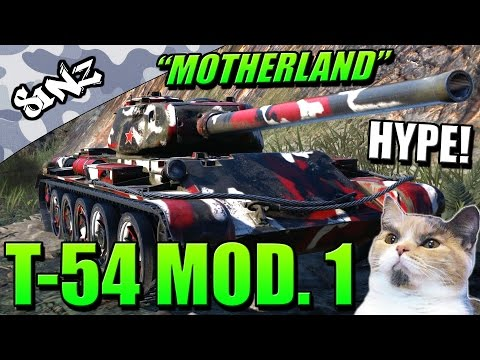 """MOTHERLAND"" HYPE! (T-54 First Prototype) - World of Tanks Console 