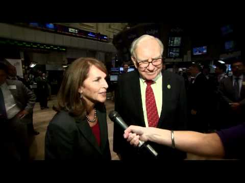 30 September 2011 Warren Buffett Celebrates Business Wire's 50th rings NYSE Opening Bell