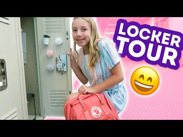 Abby's First Locker Tour!