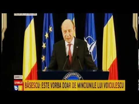 Traian Basescu suparat pe Antena 3