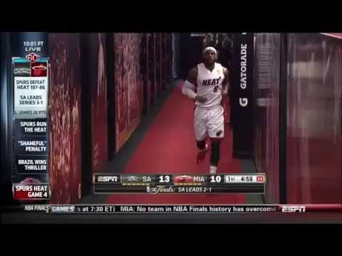 June 12, 2014 - ESPN - 2014 NBA Finals Game 04 Miami Heat Vs San Antonio Spurs - Loss (01-03)(SC)