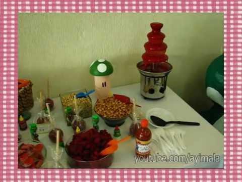 Mesa de dulces tem tica para fiesta infantil d tallitos for Mesas de dulces infantiles