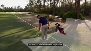 Règles de golf 2019 : Une règle locale comme alternative au dégagement « coup et distance »