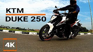 KTM DUKE 250 (2018) On The Street || The Good and Bad || Nepal|| 4K