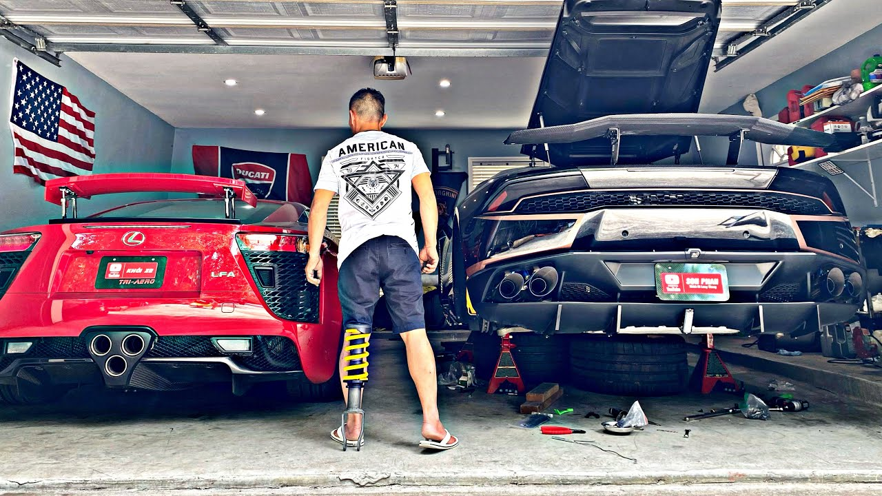 Chia Sẻ Cách Làm Đẹp Xe Lamborghini