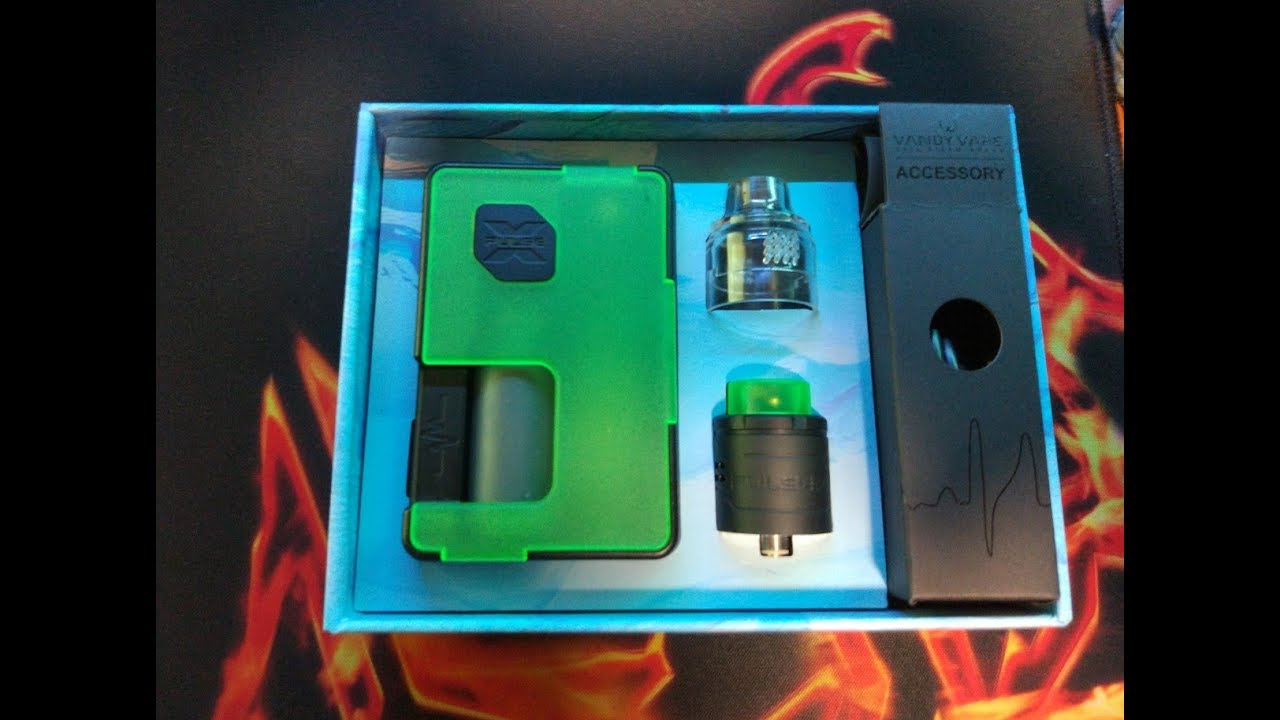 Vandy Vape Pulse X 90W Squonk Kit
