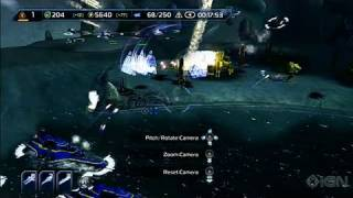 Supreme Commander 2 Xbox 360 Gameplay - Attacking a Base