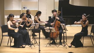 Dvořák Piano Quintet No. 2 in A, Op. 81 (live performance)