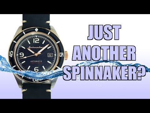 Another Spinnaker Diver!? Fleuss Automatic Dive Watch Review (SP-5055) - Perth WAtch #201