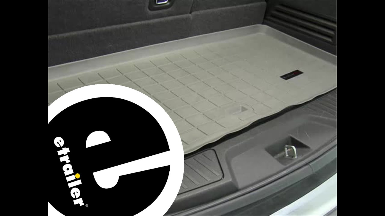 review of the weathertech cargo floor liner on a 2011 gmc acadia