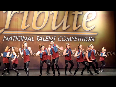 """Angie's Starz Dance Team Tap # """"Trouble"""" - May 7, 2017"""