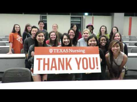 Thank you from the School of Nursing