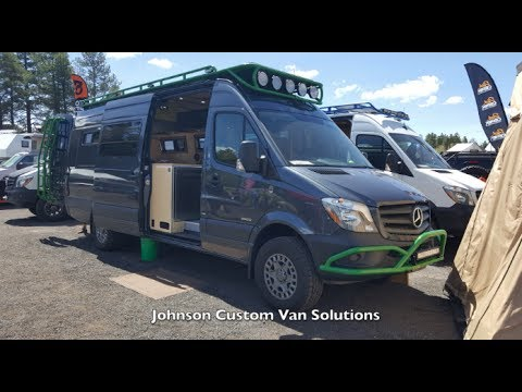 95eb4895268d Adventure Vans by Johnson Custom Van Solutions  Overland Expo 2017 ...