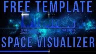 Space Audio Visualizer | Free AE Visualizer
