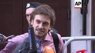 Russia: Pussy Riot activist may have medicine poisoning