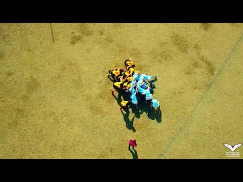 Tulsa Rugby Club vs. Shreveport Rugby FC Aerial Highlights
