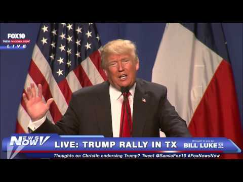 MUST SEE: Trump Calls Out Media and Amazon's Jeff Bezos, Says He LOVES PROTESTERS at Ft. Worth Rally
