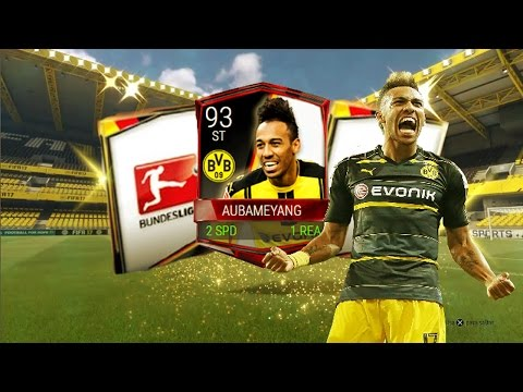 !!!REVIEW AUBAMEYANG + SOBRES DE LA BUNDESLIGA  FIFA MOBILE √√√™ JAVIGAMERS