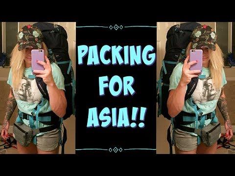 Packing For International Travel 🌎