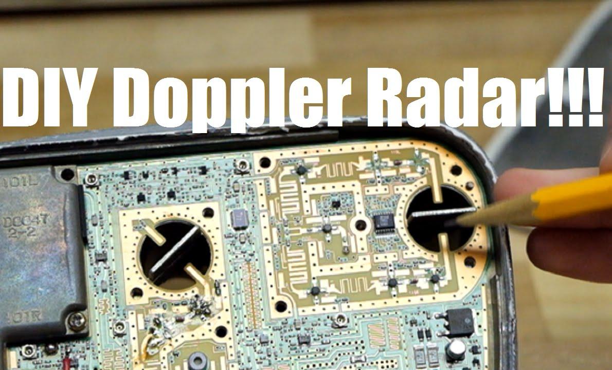 DIY Doppler Speed Radar from Satellite Dish LNB - Microwave Radio  Electronics