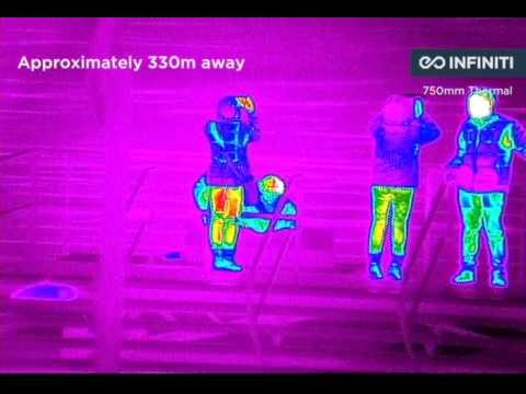 Long Range Thermal Imaging Camera Cooled MWIR IR PTZ Surveillance 360 Night Vision system