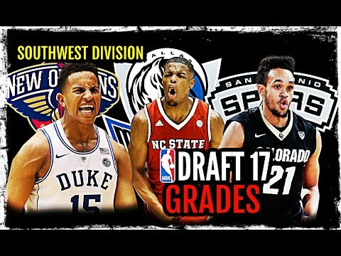 2017 NBA Draft Grades: Southwest Division: Dennis Smith, Jr. * Frank Jackson * Derrick White