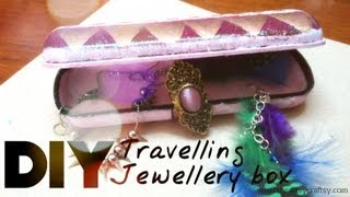 Diy Travelling Jewellery Box
