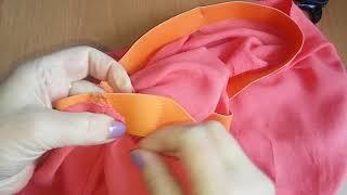 Как правильно вшить резинку в юбку