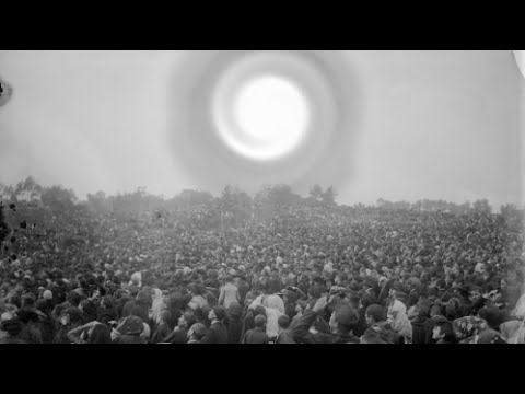 30,000 Witness Sun Become UFO