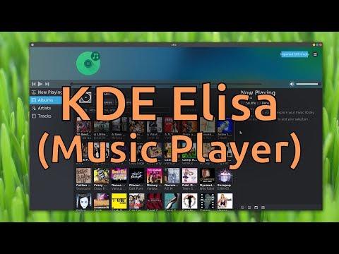 KDE Elisa (Music Player)
