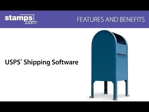 Stamps.com USPS Shipping Software